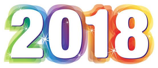 Bonne année 2018 …